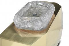 Carlyle Collective Popova Brass Bathroom Vanity - 639271
