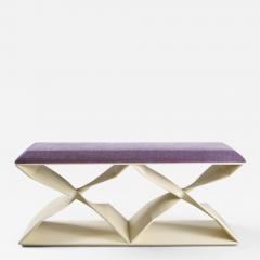 Carol Egan Sculptural Twist Bench - 1155593