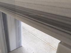 Carrara Marble Console Fireplace Mantel - 458604