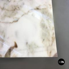 Carrara marble top console 1970s - 1936018