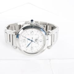 Cartier Pash GMT W31093M7 Men s Watch in Stainless Steel - 1365234
