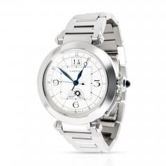 Cartier Pash GMT W31093M7 Men s Watch in Stainless Steel - 1365906