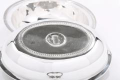 Cartier Sterling Silver Tableware Covered Dish - 1965008