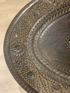 Carved Ebony Center Table - 1652780
