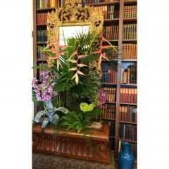 Carved Italian Neoclassical Mahogany Metamorphic Window Bench Jardiniere - 2029710