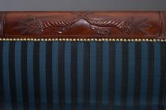 Carved Mahogany Grecian Sofa in the manner of Duncan Phyfe - 37589