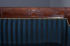 Carved Mahogany Grecian Sofa in the manner of Duncan Phyfe - 37590