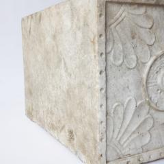 Carved Marble Planter - 757128