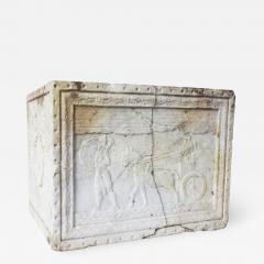 Carved Marble Planter - 757996