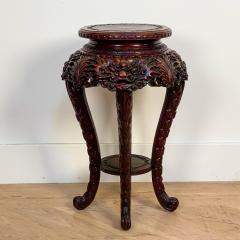 Carved Plant Stand Japan Circa 1900 - 1400823