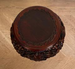 Carved Plant Stand Japan Circa 1900 - 1400825