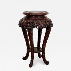 Carved Plant Stand Japan Circa 1900 - 1405527