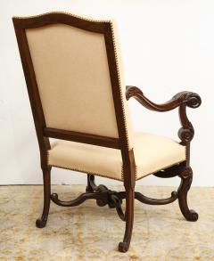 Carved Walnut Armchair - 872777