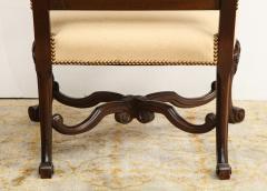 Carved Walnut Armchair - 872780