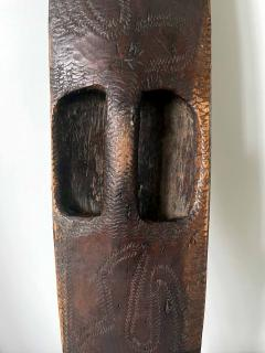 Carved Wood Aboriginal Shield Western Australia - 1961478