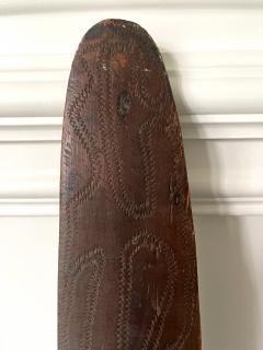 Carved Wood Aboriginal Shield Western Australia - 1961480