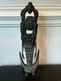 Carved Wood Hook Figure Papua New Guinea - 1967449
