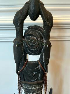 Carved Wood Hook Figure Papua New Guinea - 1967450