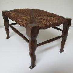 Carved Wood Legs Legs Stool - 238336