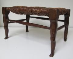 Carved Wood Legs Legs Stool - 238341