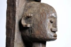 Carved Wooden Bamana Tribe Post - 739646