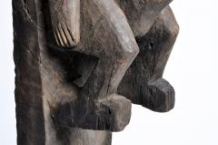 Carved Wooden Bamana Tribe Post - 739648