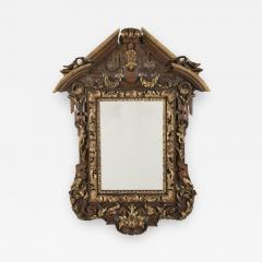 Carved and Parcel Gilt Mirror - 592342