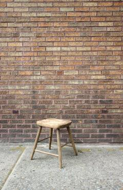 Carved and Turned Windsor Stool - 361248