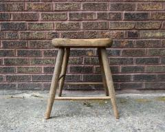 Carved and Turned Windsor Stool - 361250