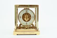 Case Glass Brass Jaeger Le Coultre Desk Clock - 944887