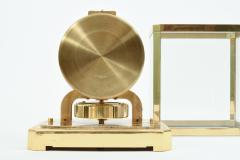 Case Glass Brass Jaeger Le Coultre Desk Clock - 944891