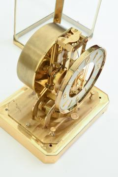 Case Glass Brass Jaeger Le Coultre Desk Clock - 944892