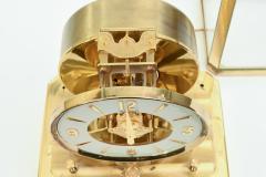 Case Glass Brass Jaeger Le Coultre Desk Clock - 944893