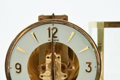 Case Glass Brass Jaeger Le Coultre Desk Clock - 944894