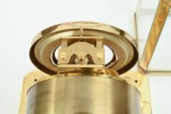 Case Glass Brass Jaeger Le Coultre Desk Clock - 944895