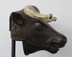 Cast Iron Bull Head Perfume Dispenser - 419865