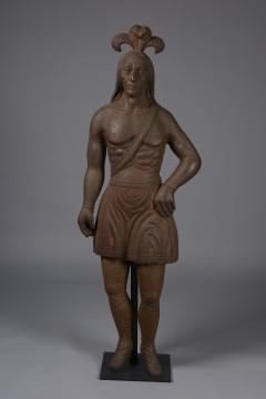 Cast Iron Figure of an Indian - 1042958