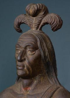 Cast Iron Figure of an Indian - 1042975