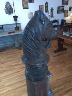 Cast Iron Horse Hitching Post - 509426