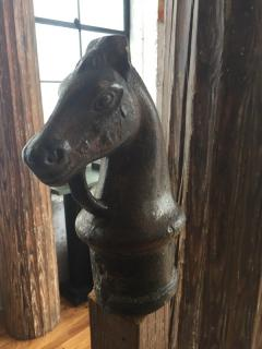 Cast Iron Horse Hitching Post - 509428