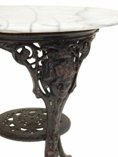 Cast Iron and Marble Ocassional Tables - 1756304