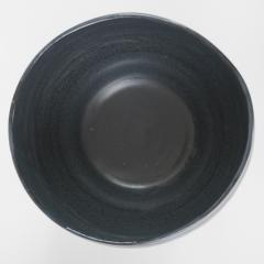 Catherine Bonte Navarrot SET OF 2 BLACK GLAZED CERAMIC VASES - 2100086