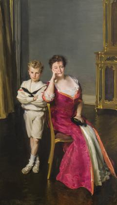 Cecilia Beaux Mrs John Frederick Lewis and Son John Frederick Lewis Jr  - 1136527
