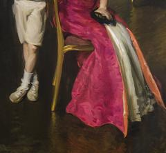 Cecilia Beaux Mrs John Frederick Lewis and Son John Frederick Lewis Jr  - 1136529