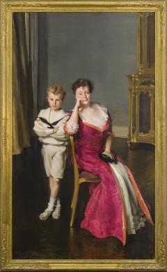 Cecilia Beaux Mrs John Frederick Lewis and Son John Frederick Lewis Jr  - 1136530