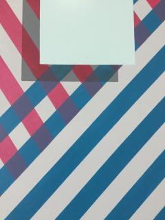 Cecilia Setterdahl Love Stripes Acrylic on Canvas - 1847932