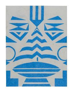 Cecilia Setterdahl Tribal Blue - 1598736