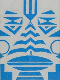 Cecilia Setterdahl Tribal Blue - 1598910