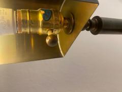 Cedric Hartman MODERNIST PAIR OF TELESCOPING BRASS FLOOR LAMPS IN THE MANNER OF CEDRIC HARTMAN - 1684681