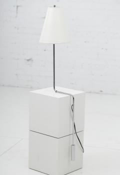 Cedric Hartman Minimalist Chrome Counterbalance Table Lamps - 1566645